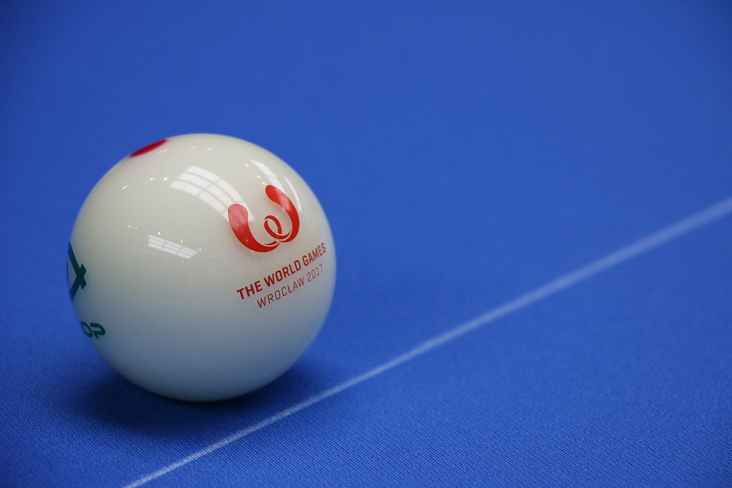 Photo of cue ball